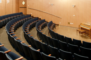 Jerusalem - Agron : Concert hall in the Jerusalem - Agron hostel in Israel
