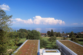 Konstanz : View of Landscape from Konstanz Hostel, Germany