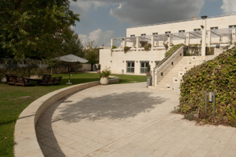 Jerusalem -Yitzhak Rabin : Exterior view of the Jerusalem -Yitzhak Rabin hostel in Israel