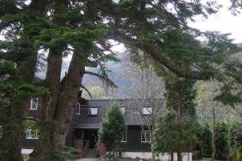 Glen Nevis SYHA : Das Äußere des Glen Nevis SYHA Hostel in Schottland
