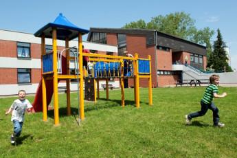 Schöningen am Elm : Playground at Schoningen am Elm Hostel, Germany