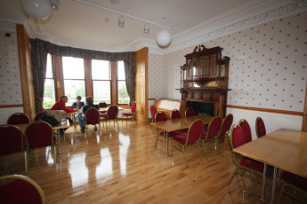 Lerwick : Lounge in the Lerwick hostel in Scotland