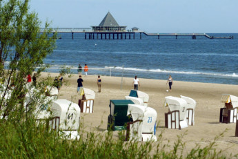 Heringsdorf : Beach Local to Heringsdorf Hostel, Germany