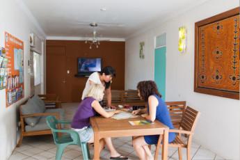 Darwin YHA : Darwin YHA dining area