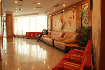 Far East International Youth Hostel : Lobby in Far East International Youth Hostel, China