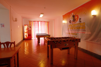 Azores - S.Miguel Is. - Ponta Delgada : Games Room in Azores - S.Miguel Is. - Ponta Delgada Hostel, Portugal