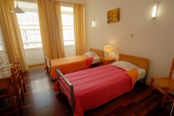 Azores - S.Miguel Is. - Ponta Delgada : Twin Room in Azores - S.Miguel Is. - Ponta Delgada Hostel, Portugal