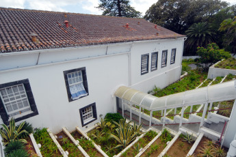 Azores - S.Miguel Is. - Ponta Delgada : Garden and Exterior View of Azores - S.Miguel Is. - Ponta Delgada Hostel, Portugal