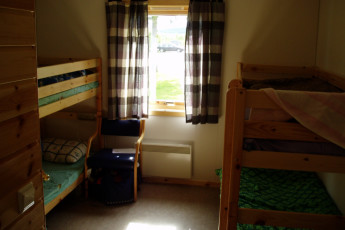 Senja : Dorm room in the Senja hostel in Norway