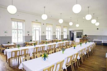 Wismar : Dining Area in Wismar Hostel, Germany