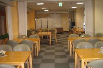 Sapporo - Sapporo International YH : Restaurant in Sapporo - Sapporo International Youth Hostel, Japan