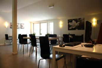 Stavanger Mosvangen : Dining room in the Stavanger Mosvangen hostel in Norway
