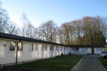 Stavanger Mosvangen : Exterior of the Stavanger Mosvangen hostel in Norway