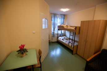 Szczecin - Cuma : Twin room in the Szczecin - Cuma hostel in Poland