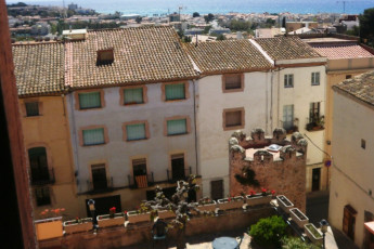 Alberg Casa Gran : View from the Altafulla hostel in Spain