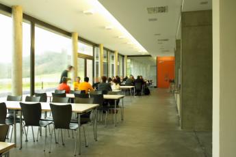 Echternach : Dining Area in Echternach Hostel, Luxembourg