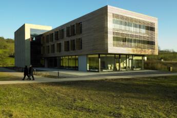 Echternach : Exterior View of Echternach Hostel, Luxembourg