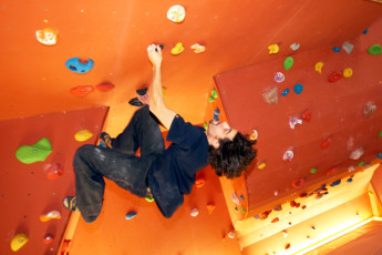 Echternach : Rock Climbing at Echternach Hostel, Luxembourg