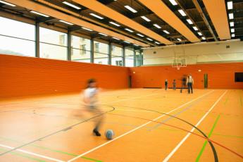 Echternach : Basketball Short in Echternach Hostel, Luxembourg