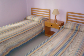 Cristo de Otadia : Twin room in the Alsasua hostel in Spain