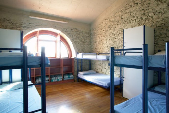 Banyoles - Alberg Banyoles : Dorm room in the Banyoles - Alberg Banyoles hostel in Spain
