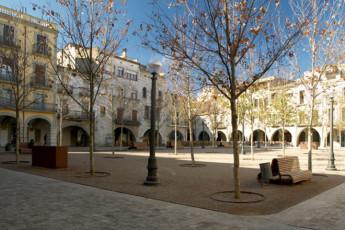 Banyoles - Alberg Banyoles : Courtyard at the Banyoles - Alberg Banyoles hostel in Spain