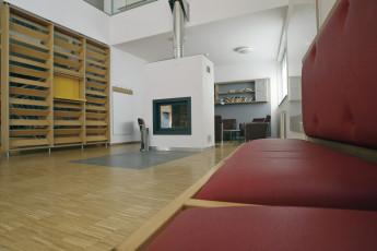 Lultzhausen : Lounge Area in Lultzhausen Hostel, Luxembourg