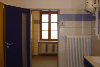 Vianden : Bathroom in Vianden Hostel, Luxembourg