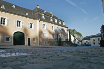 Bourglinster : Exterior View of Bourglinster Hostel, Luxembourg