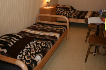 Warsaw - Karolkowa : Twin Room in Warsaw - Karolkowa Hostel, Poland