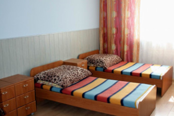 Warsaw - Karolkowa : Triple Room in Warsaw - Karolkowa Hostel, Poland