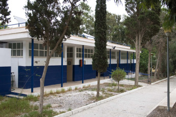 Albergue Inturjoven Aguadulce : outside view of the Hostel Inturjoven Aguadulce in spain