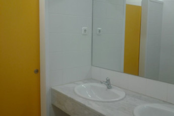 Planoles - Pere Figuera : Bathroom in the Planoles - Pere Figuera in Spain