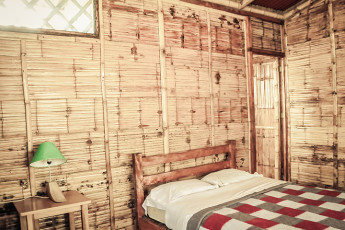 Tumbes - HI Grillo Tres Puntas. : Private double room in the Tumbes - HI Grillo Three tips in Peru