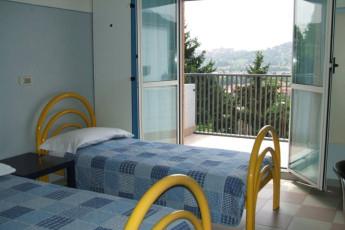 Bergamo - Nuovo Ostello di Bergamo : Twin Room in Bergamo - Nuovo Ostello di Bergamo, Italy