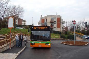 Bergamo - Nuovo Ostello di Bergamo : Bus Stop Local to Bergamo - Nuovo Ostello di Bergamo, Italy