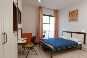 Peki'in : Double room at the Pekiin hostel in Israel