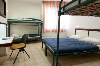 Peki'in : Dorm room at the Pekiin hostel in Israel