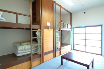 Kyotofu - Amanohashidate YH : Dorm Room in Kyotofu - Amanohashidate Youth Hostel, Japan