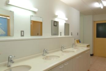 Kyotofu - Amanohashidate YH : Bathroom in Kyotofu - Amanohashidate Youth Hostel, Japan