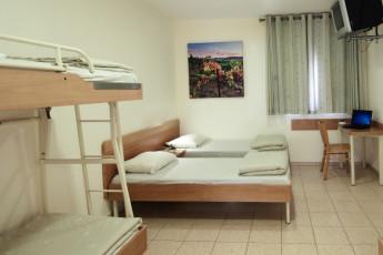 Ma'ayan Harod : Dorm room in the Maayan Harod hostel in Israel