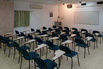 Ma'ayan Harod : Conference room in the Maayan Harod hostel in Israel