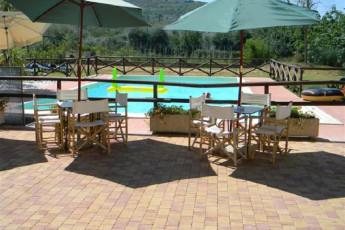 Trasimeno Lake- La Casa sul Lago Y.H. : Pool Area at Trasimeno Lake- La Casa sul Lago YH, Italy