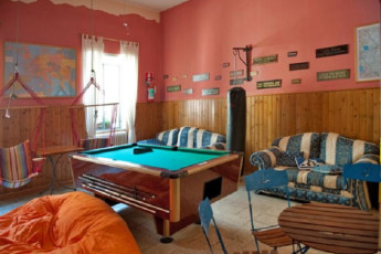 Trasimeno Lake- La Casa sul Lago Y.H. : Lounge and Games Room in Trasimeno Lake- La Casa sul Lago YH, Italy