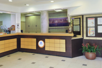Tel Aviv  – Bnei Dan : Reception of the Tel Aviv - Bnei Dan hostel in Israel