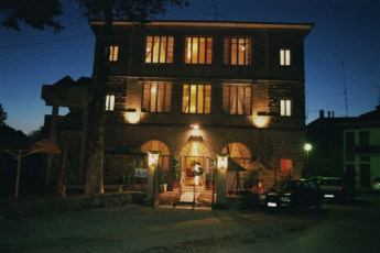Trasimeno Lake- La Casa sul Lago Y.H. : Exterior View of Trasimeno Lake- La Casa sul Lago YH, Italy at Night
