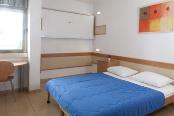 Tel Aviv  – Bnei Dan : Double room in the Tel Aviv - Bnei Dan hostel in Israel