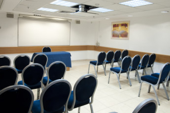 Tel Aviv  – Bnei Dan : Conference room in the Tel Aviv - Bnei Dan hostel in Israel