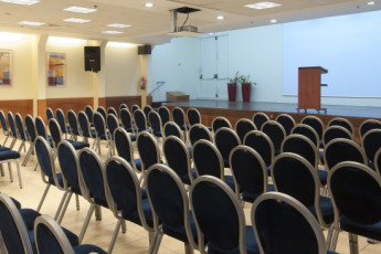 Tel Aviv  – Bnei Dan : Conference hall in the Tel Aviv - Bnei Dan hostel in Israel