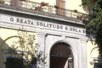 Agerola-San Lazzaro - Beata Solitudo : Front Exterior View of Agerola-San Lazzaro - Beata Solitudo Hostel, Italy